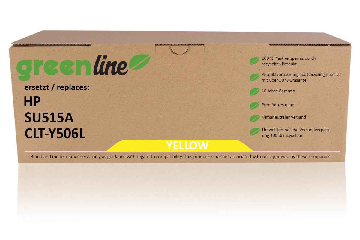 greenline ersetzt HP SU 515 A / CLT-Y506L Tonerkartusche, gelb