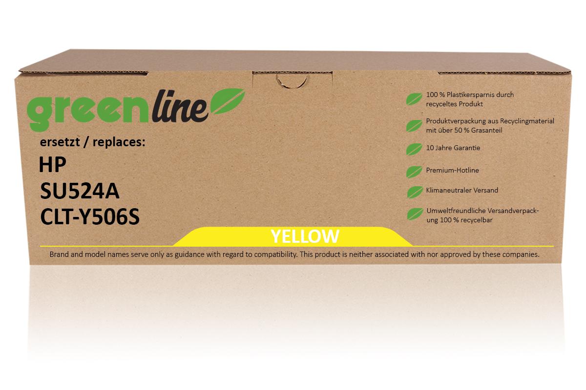 greenline ersetzt HP SU 524 A / CLT-Y506S XL Tonerkartusche, gelb