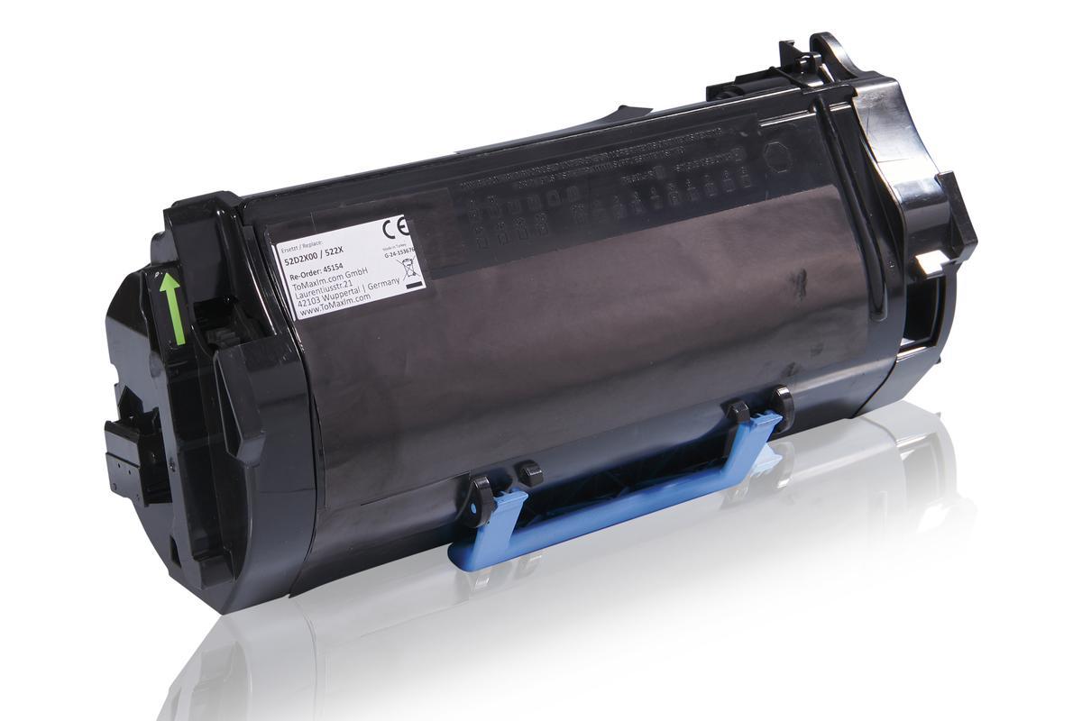Kompatibel zu Lexmark 52D2X00 / 522X Tonerkartusche, schwarz