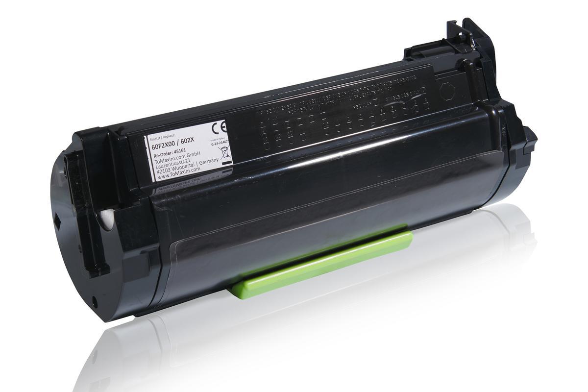 Kompatibel zu Lexmark 60F2X00 / 602X Tonerkartusche, schwarz