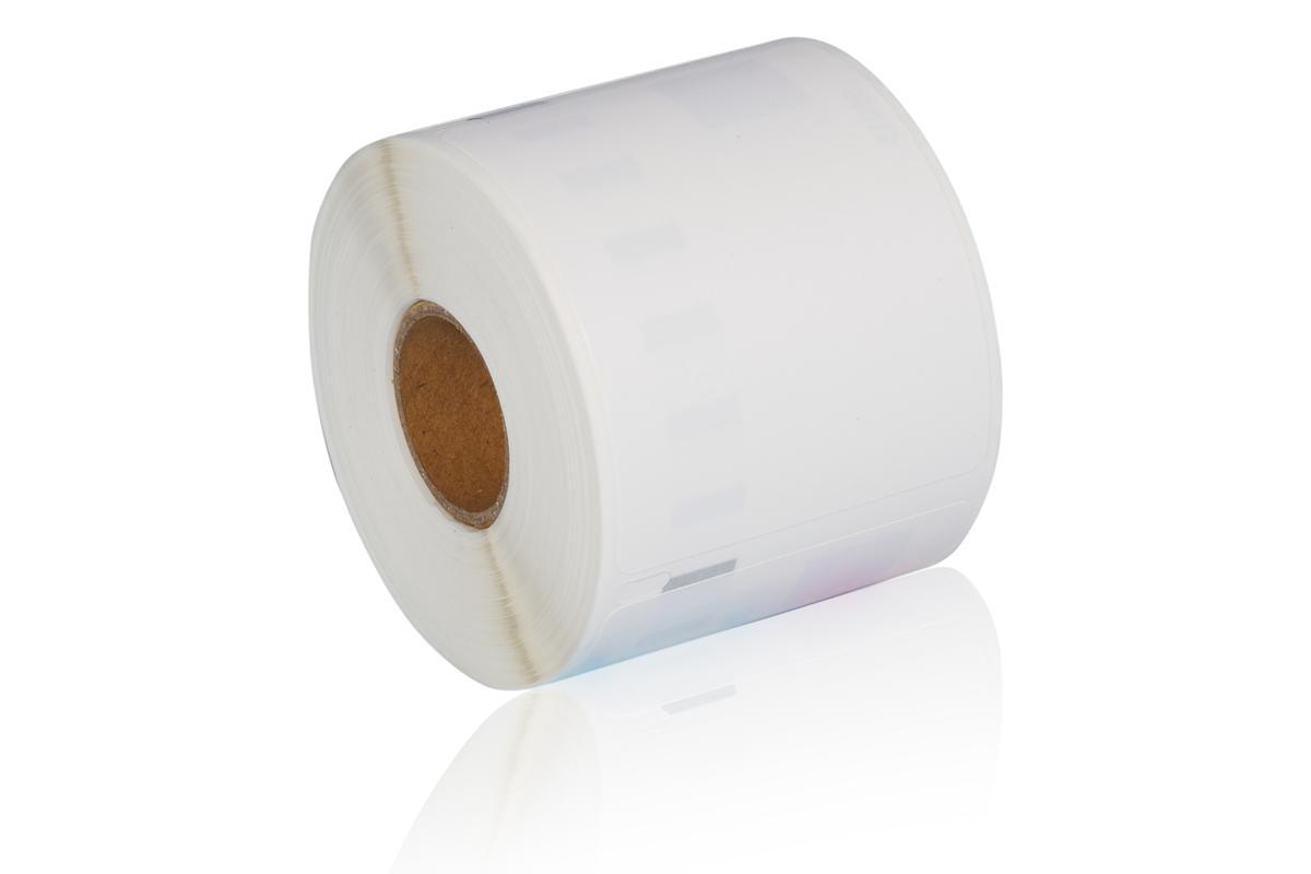 Kompatibel zu Dymo 99015 / S0722440 Etikett, weiss