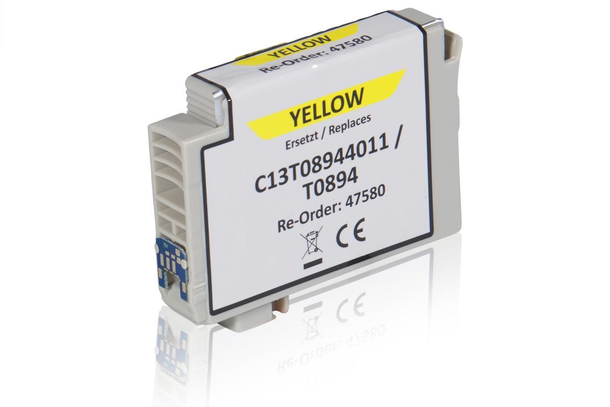 Kompatibel zu Epson C13T08944011 / T0894 Tintenpatrone, gelb