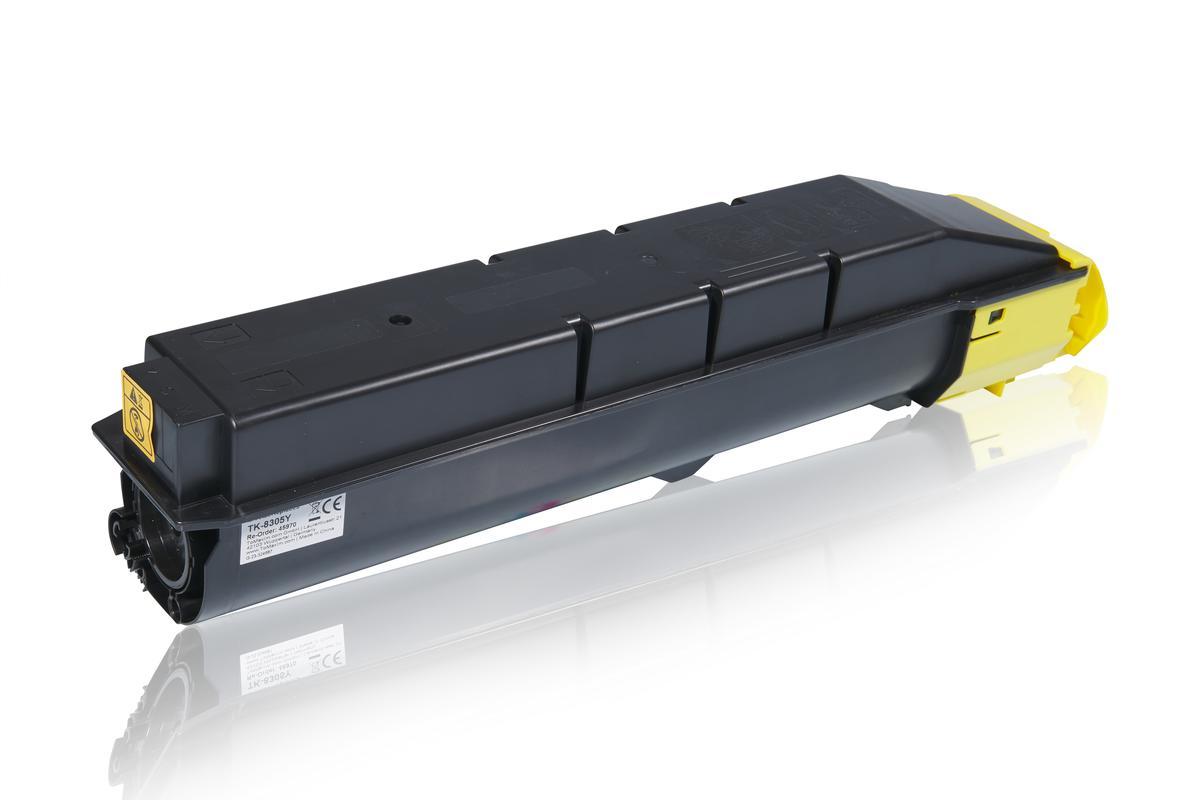 Kompatibel zu Kyocera 1T02LKANL0 / TK-8305Y Tonerkartusche, gelb