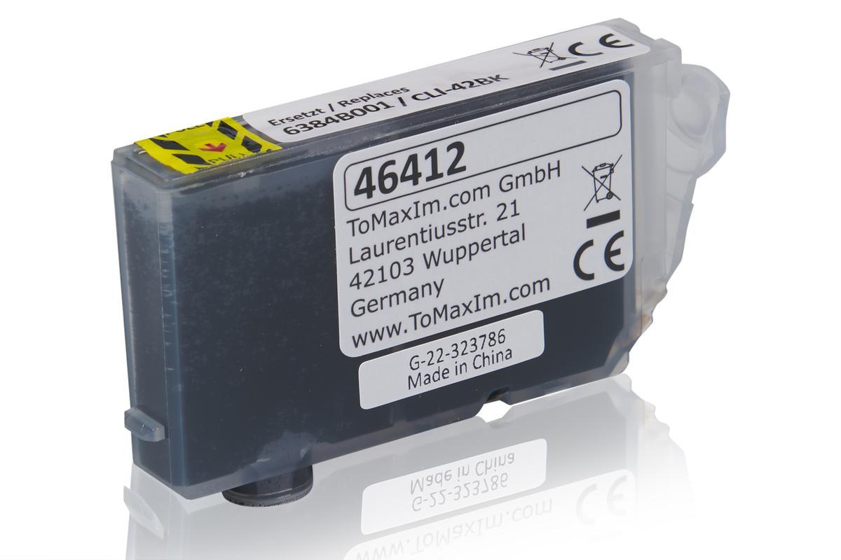Kompatibel zu Canon 6384B001 / CLI-42BK Tintenpatrone, schwarz