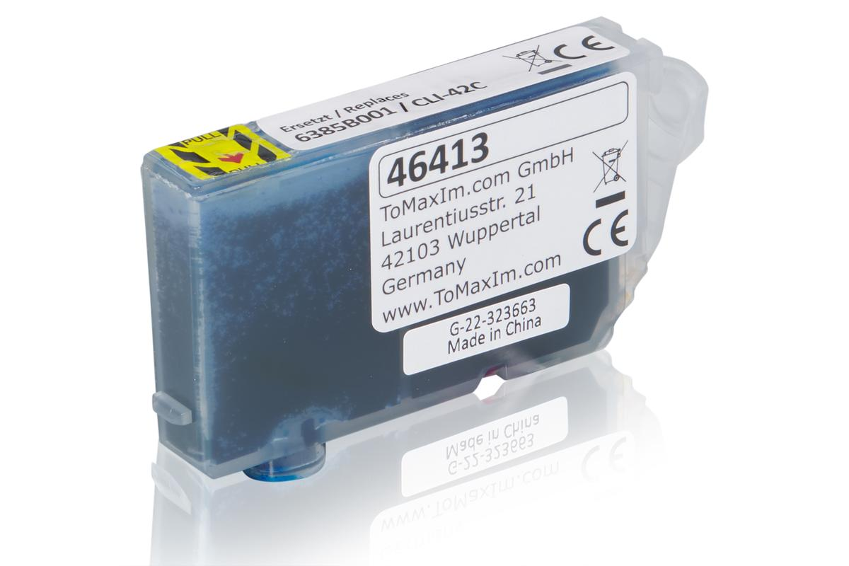 Kompatibel zu Canon 6385B001 / CLI-42C Tintenpatrone, cyan