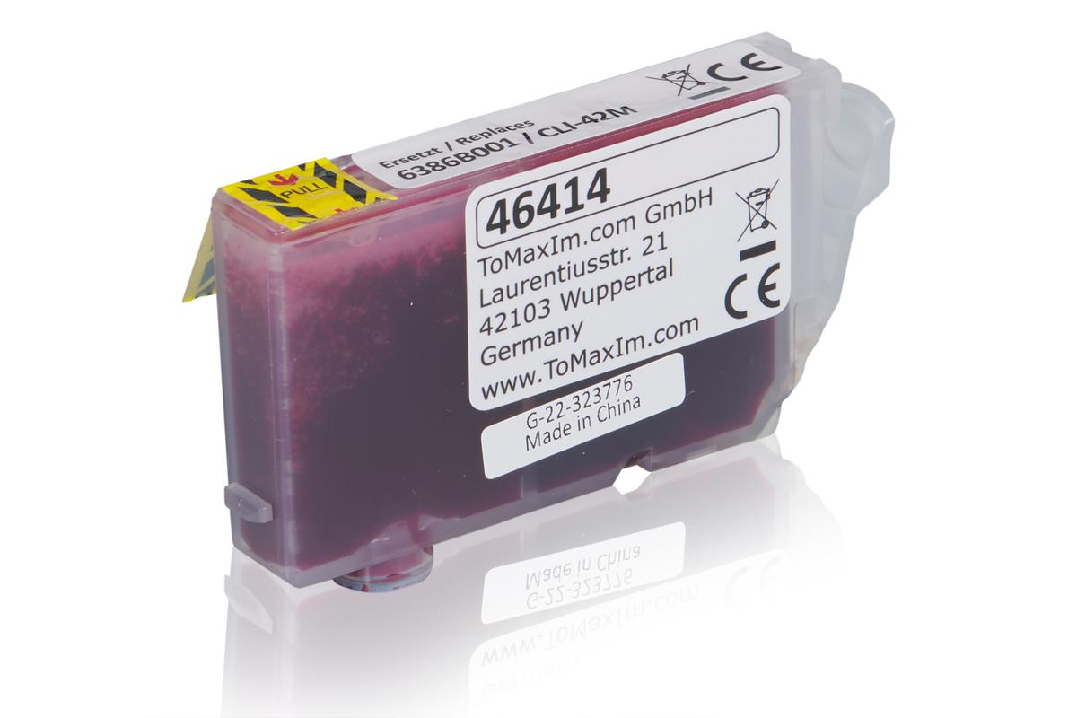 Kompatibel zu Canon 6386B001 / CLI-42M Tintenpatrone, magenta