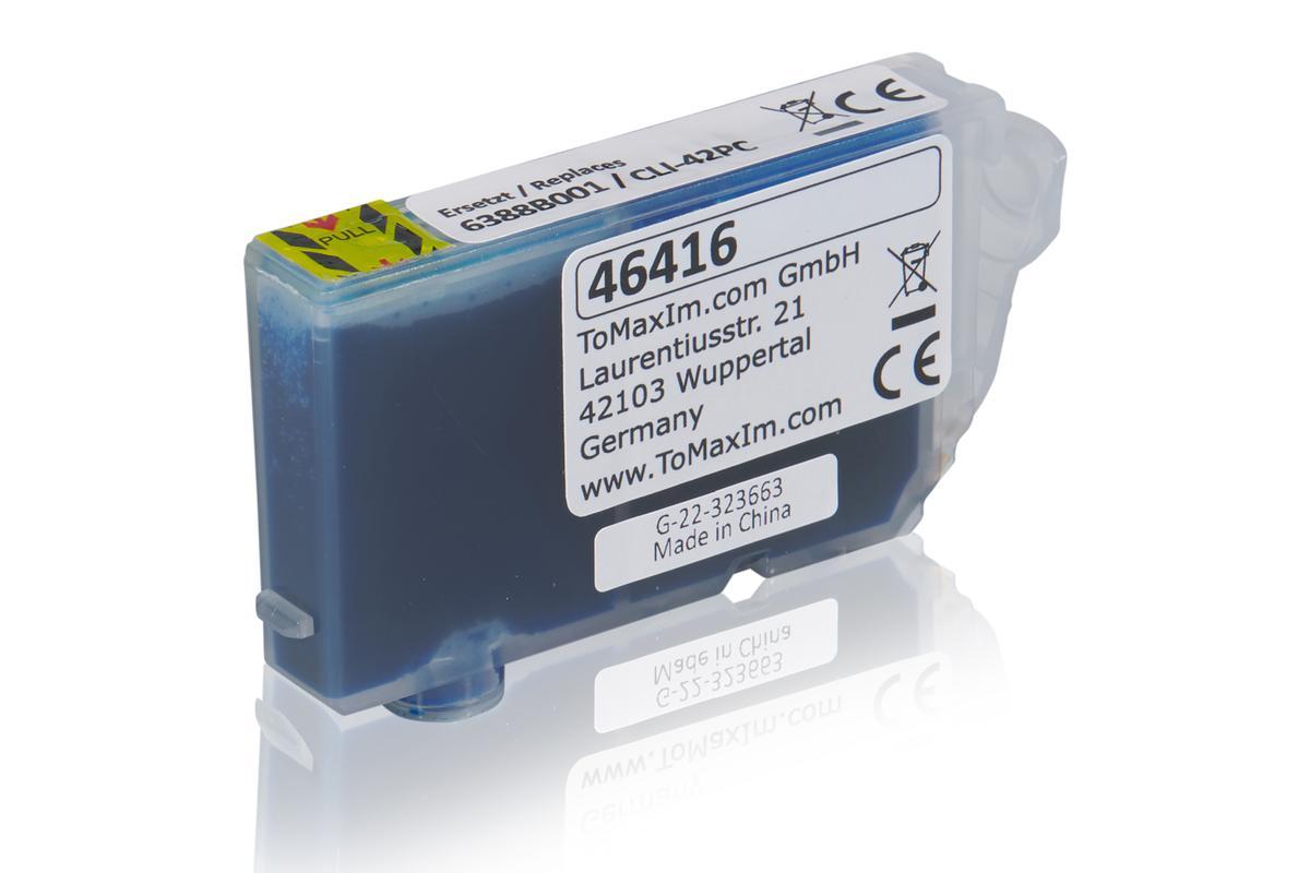 Kompatibel zu Canon 6388B001 / CLI-42PC Tintenpatrone, light cyan