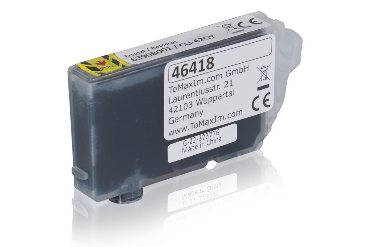 Kompatibel zu Canon 6390B001 / CLI-42GY Tintenpatrone, grau