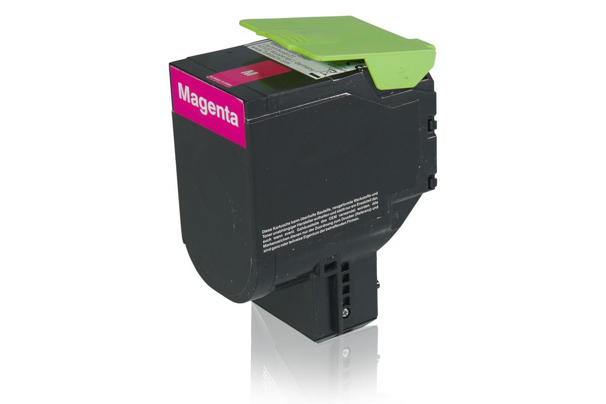 Kompatibel zu Lexmark 24B6009 Tonerkartusche, magenta