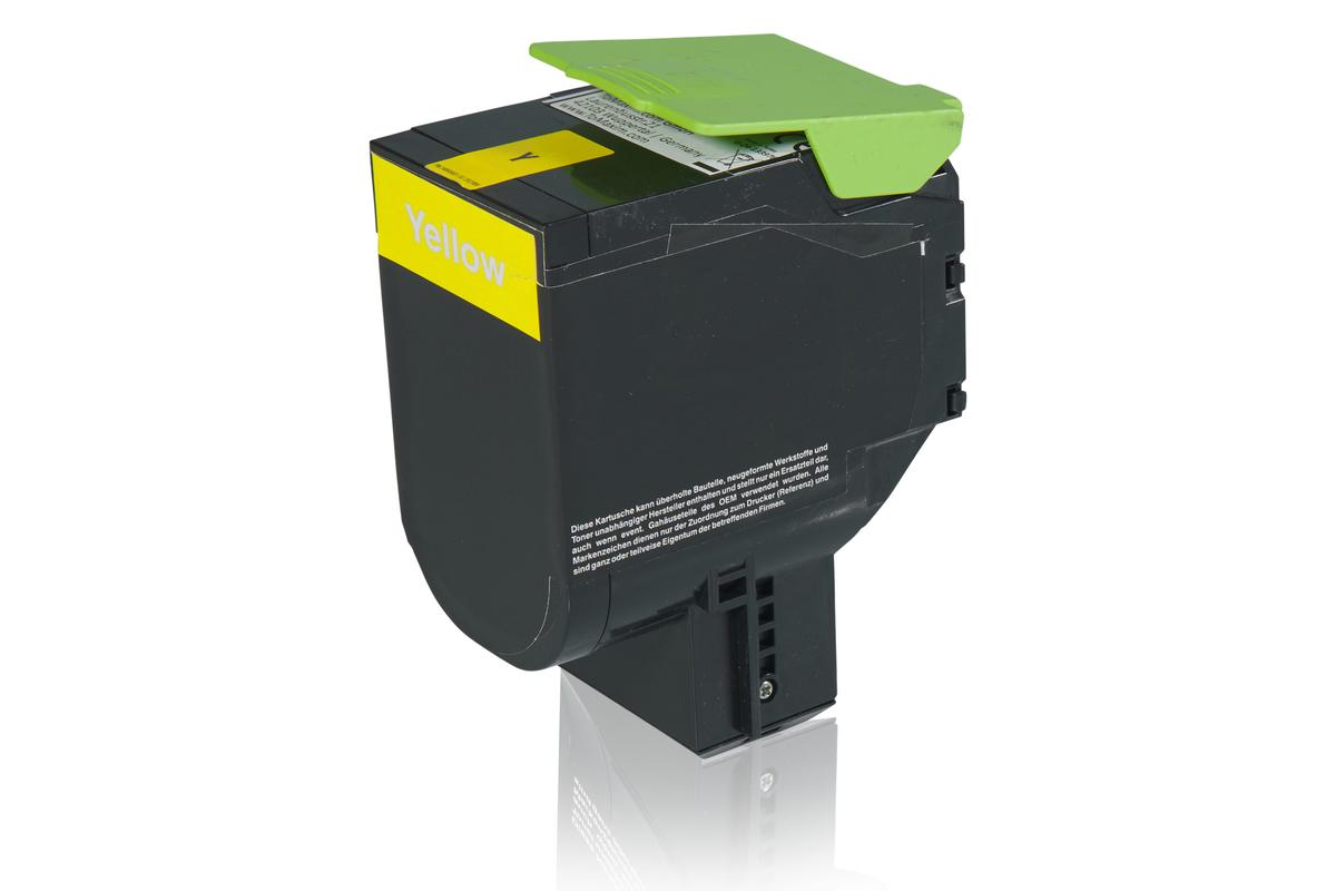 Kompatibel zu Lexmark 24B6010 Tonerkartusche, gelb