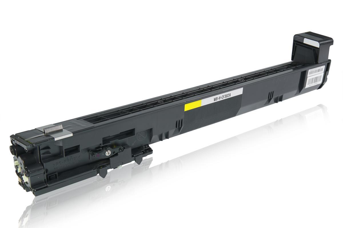 Kompatibel zu HP CF302A / 827A Tonerkartusche, gelb