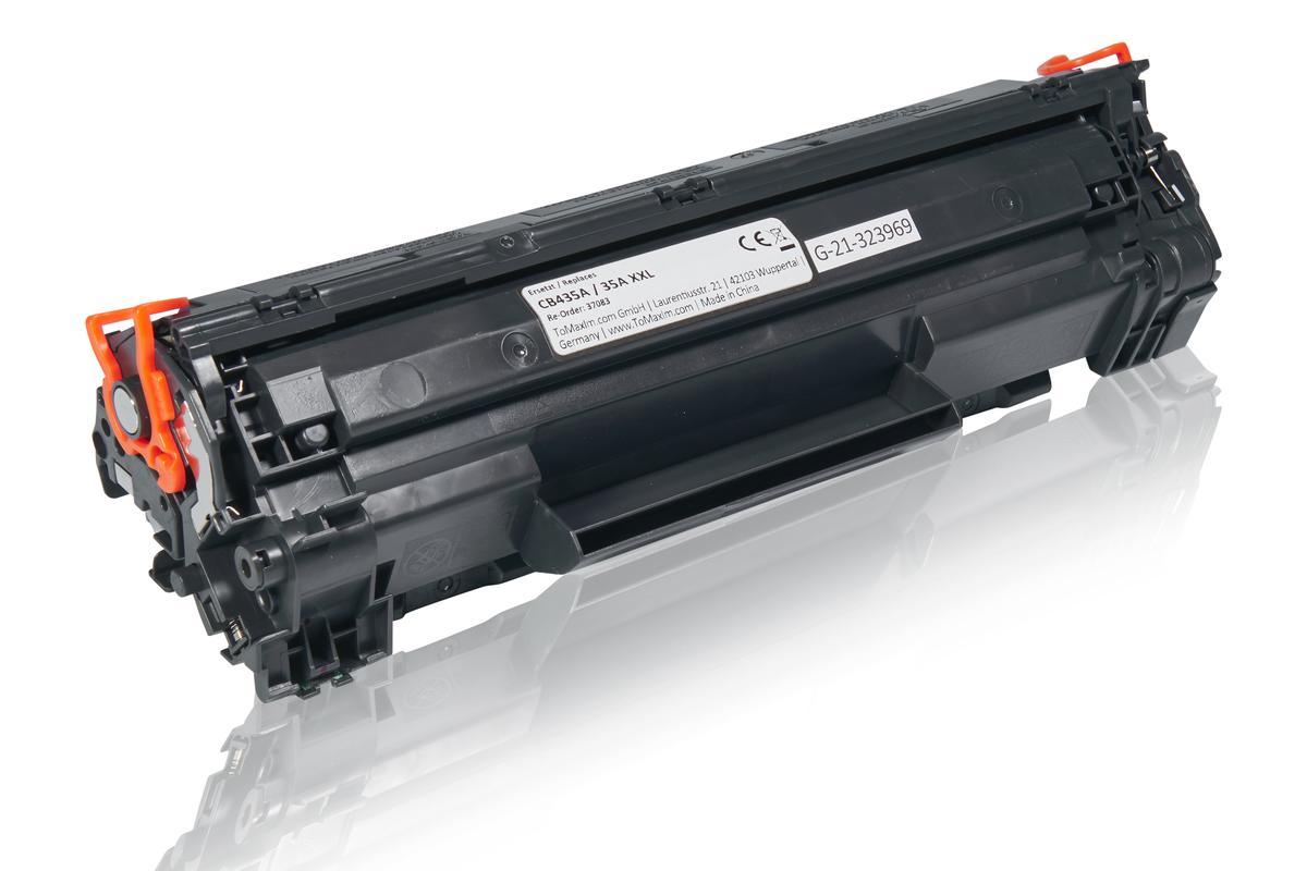 Kompatibel zu HP CB435A / 35A XL Tonerkartusche, schwarz