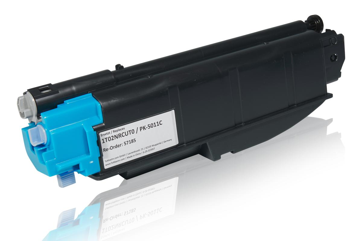 Kompatibel zu Utax 1T02NRCUT0 / PK-5011C Tonerkartusche, cyan
