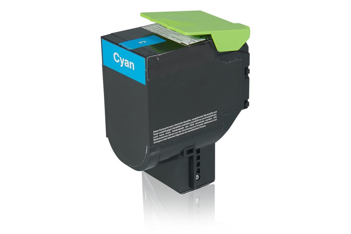 Kompatibel zu Lexmark 24B6008 Tonerkartusche, cyan
