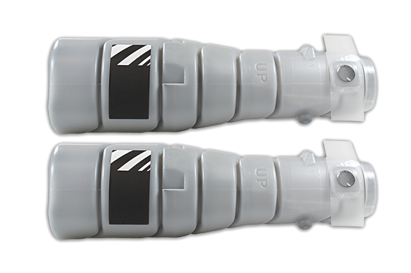 Kompatibel zu Konica Minolta 8937-784 / TN114 Toner schwarz (2 Stück)