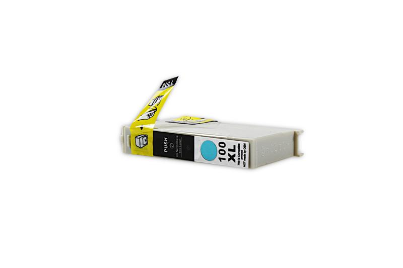 Kompatibel zu Lexmark 0014N1093E / 100 XL Tintenpatrone cyan (mit Chip)