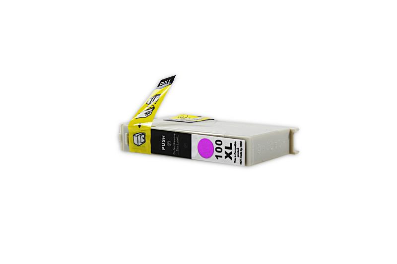 Kompatibel zu Lexmark 0014N1094E / 100 XL Tintenpatrone magenta (mit Chip)