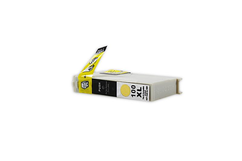 Kompatibel zu Lexmark 0014N1095E / 100 XL Tintenpatrone gelb (mit Chip)