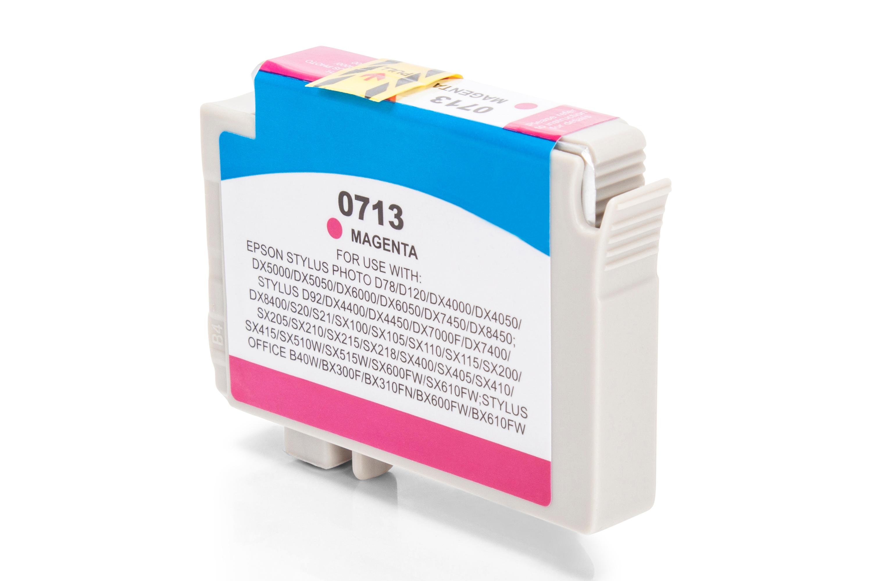 Kompatibel zu Epson T0713 Tintenpatrone magenta