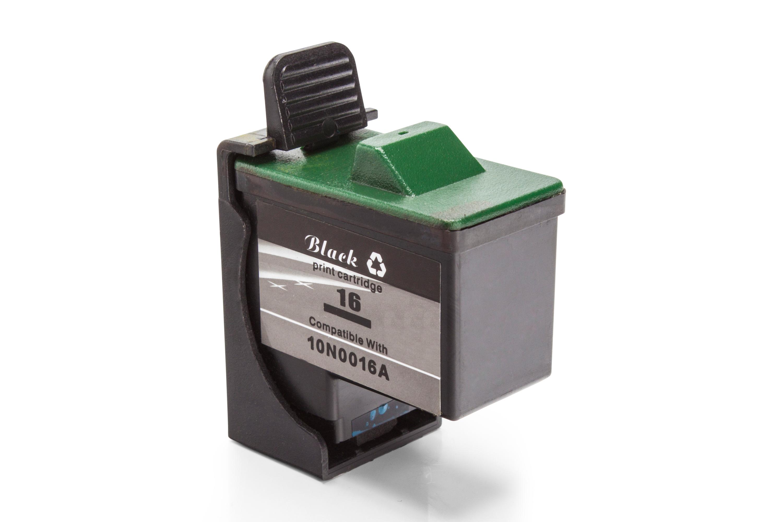 Kompatibel zu Lexmark No 16 / No 17 Tintenpatrone schwarz