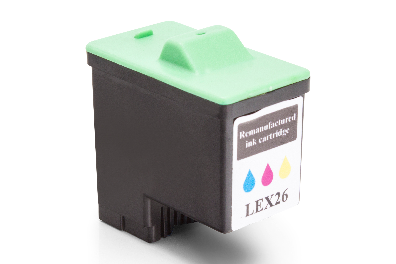 Kompatibel zu Lexmark No 26 / No 27 Tintenpatrone Farbe