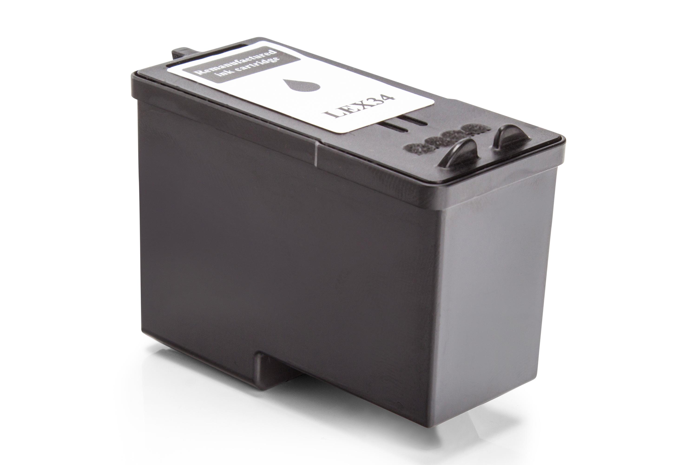 Kompatibel zu Lexmark 018C0034E / No 34XL Tintenpatrone schwarz