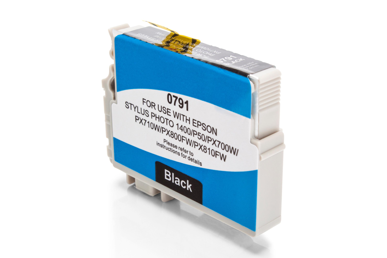 Kompatibel zu Epson T0791 schwarz