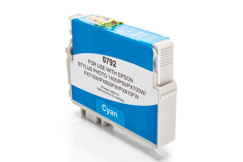 Kompatibel zu Epson T0792 cyan