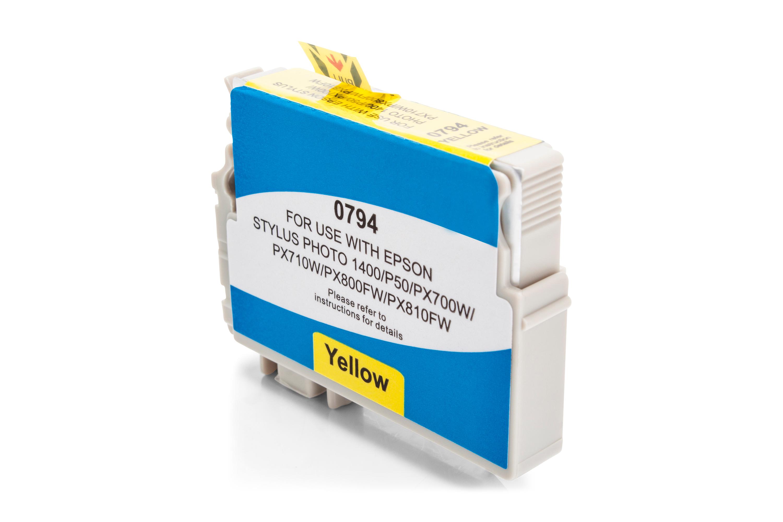 Kompatibel zu Epson T0794 gelb