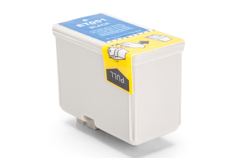 Kompatibel zu Epson C13T05114010 / T0511 Tintenpatrone schwarz