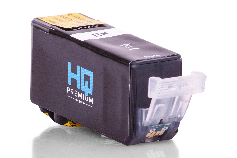 HQ-Premium Tintenpatrone ersetzt Canon 2932B001 / PGI-520PGBK Schwarz
