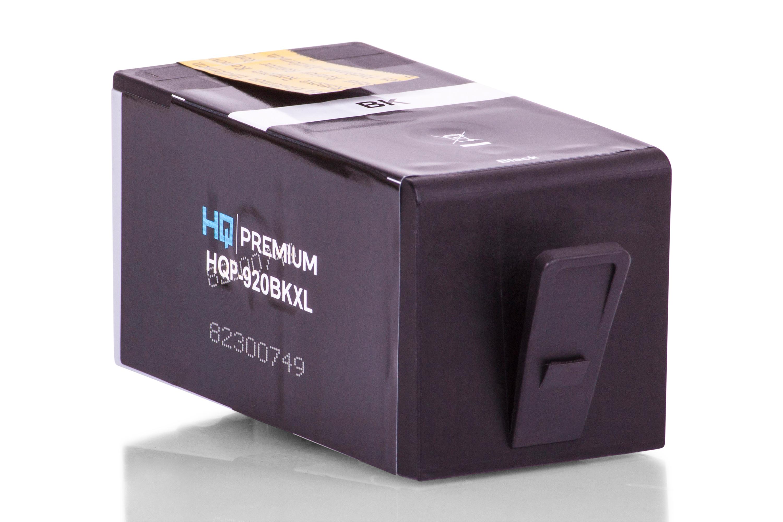 HQ-Premium Tintenpatrone ersetzt HP CD975AE / 920 Schwarz XXL