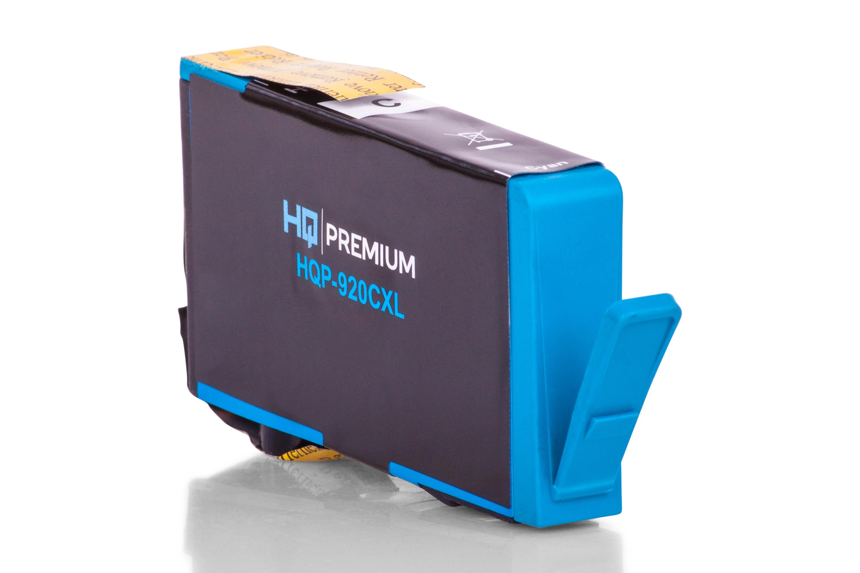 HQ-Premium Tintenpatrone ersetzt HP CD972AE / 920 Cyan XXL