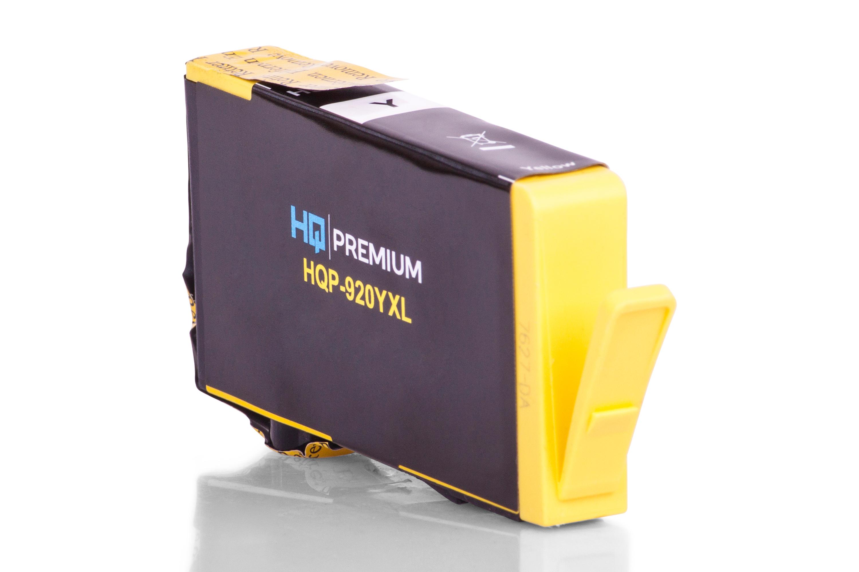 HQ-Premium Tintenpatrone ersetzt HP CD974AE / 920 Gelb XXL