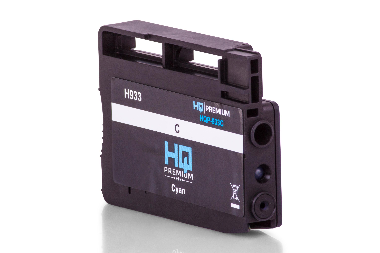 HQ-Premium Tintenpatrone ersetzt HP CN054AE / 933 Cyan