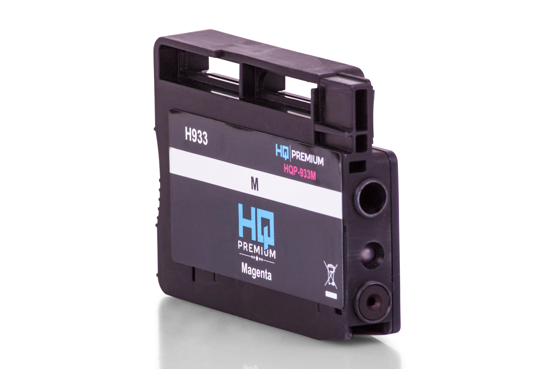 HQ-Premium Tintenpatrone ersetzt HP CN055AE / 933 Magenta
