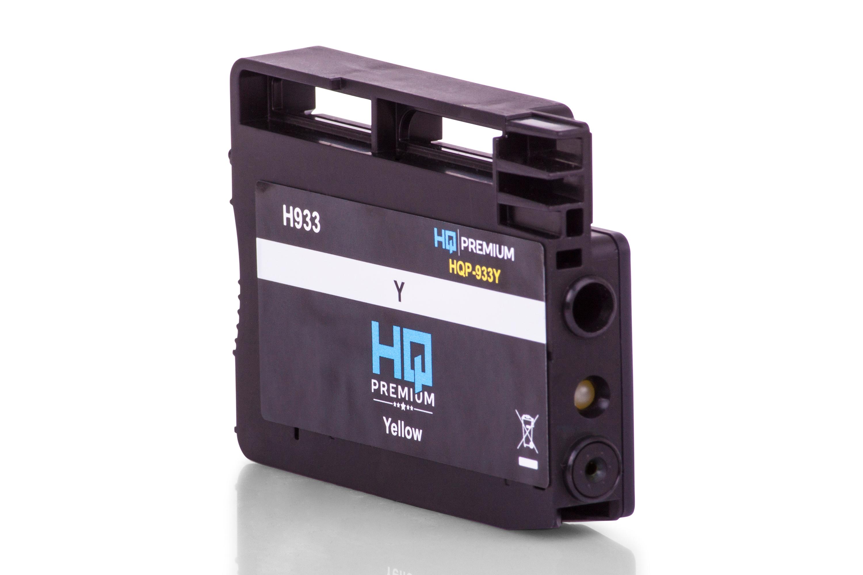 HQ-Premium Tintenpatrone ersetzt HP CN056AE / 933 Gelb