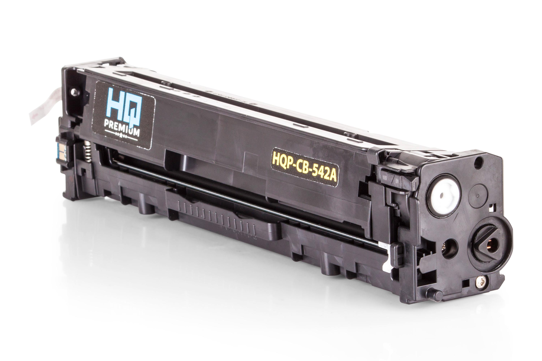 HQ-Premium Toner ersetzt HP CB542A / 125A Gelb