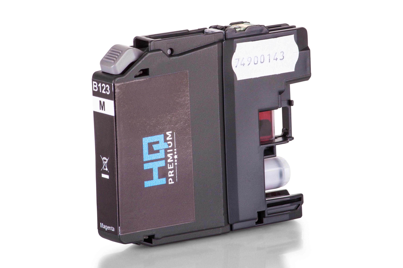 Cartouche d'Encre HQ-Premium remplace la Brother LC123M Magenta