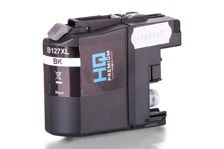 Cartouche d'Encre HQ-Premium remplace la Brother LC127XL-BK Noir XXL