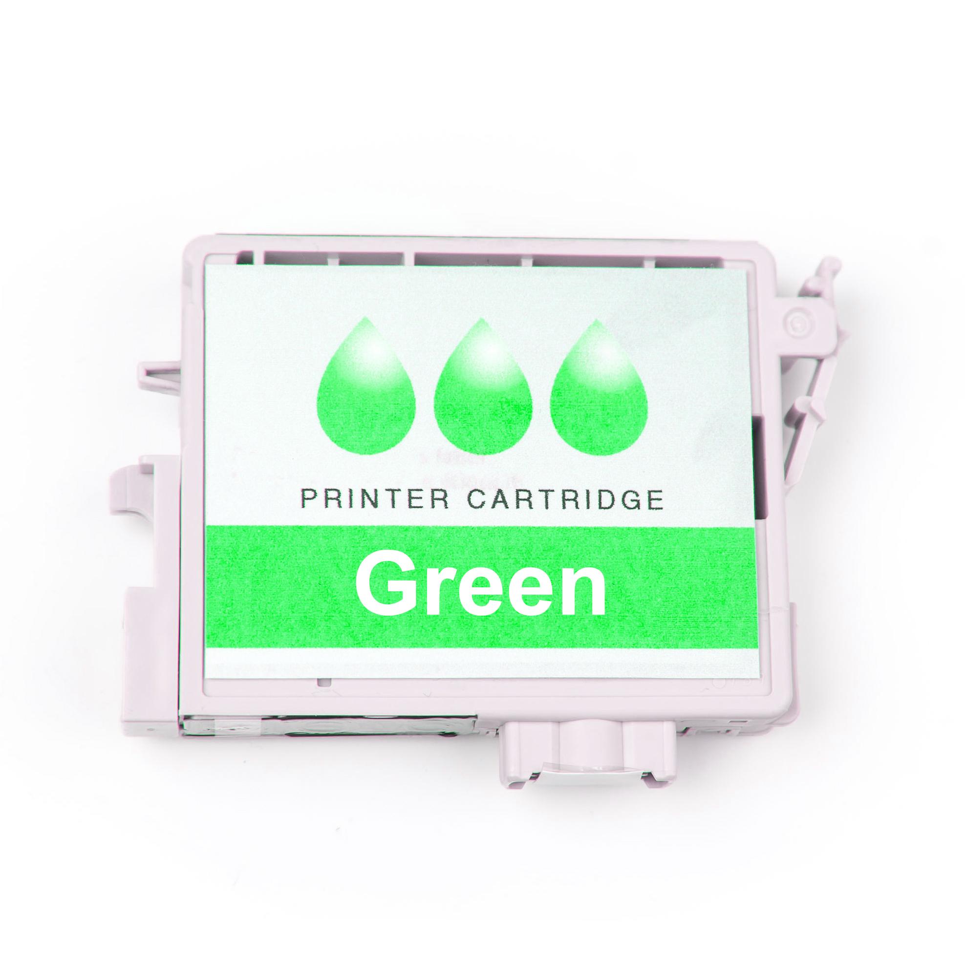 Original HP P2V84A / 747 Tintenpatrone grün