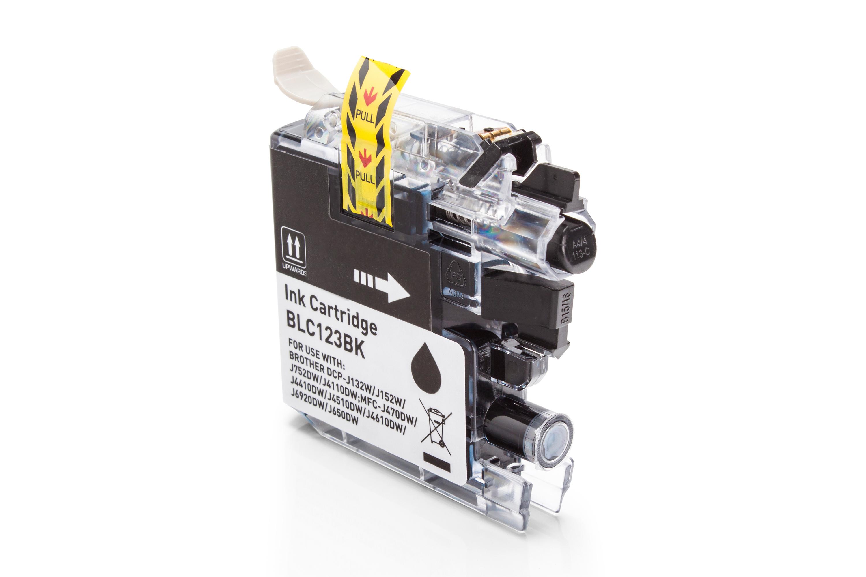 Brother LC123BK Tintenpatrone schwarz Kompatibel