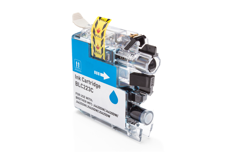Brother LC-223C Tintenpatrone cyan Kompatibel