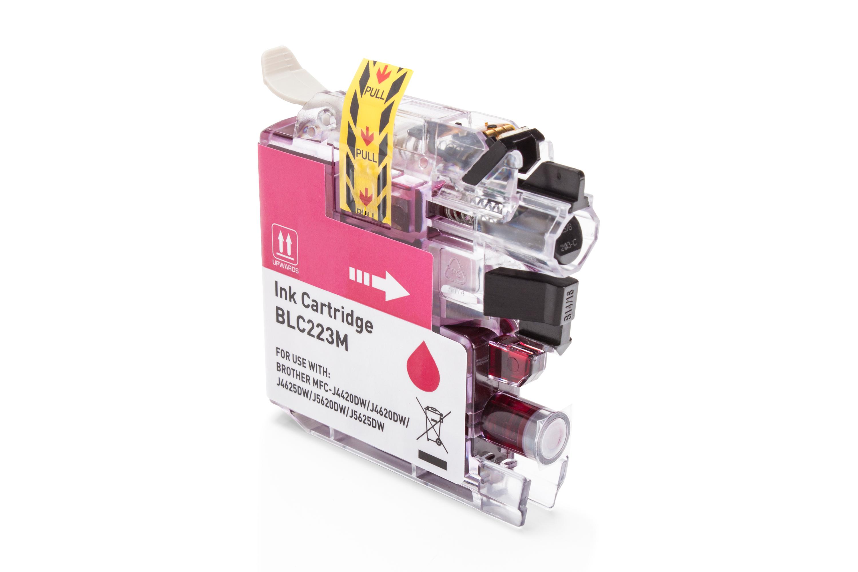 Brother LC-223M Tintenpatrone magenta Kompatibel