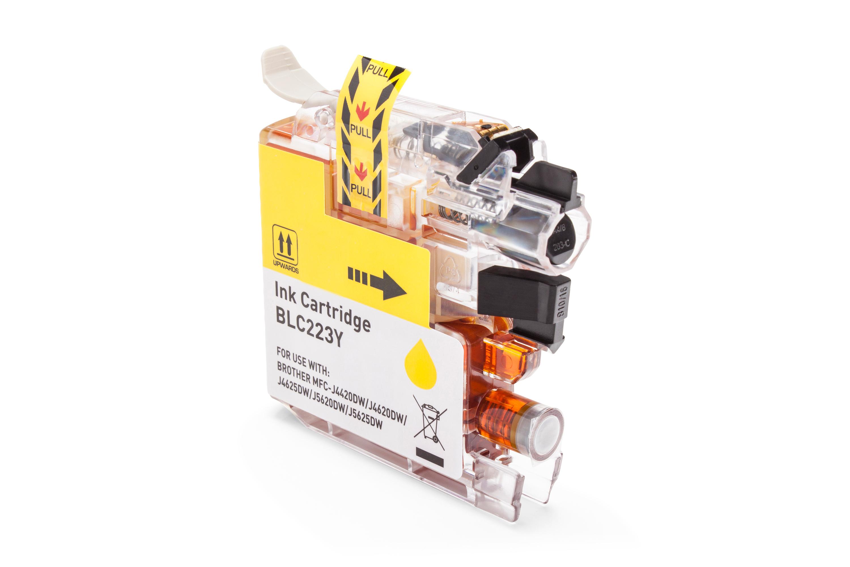 Brother LC-223Y Tintenpatrone gelb Kompatibel