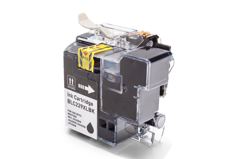 Brother LC229XLBK Tintenpatrone schwarz Kompatibel
