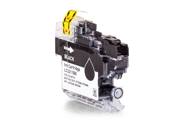 Brother LC3211BK Tintenpatrone schwarz Kompatibel