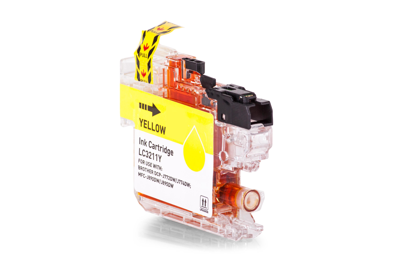 Brother LC3211Y Tintenpatrone gelb Kompatibel