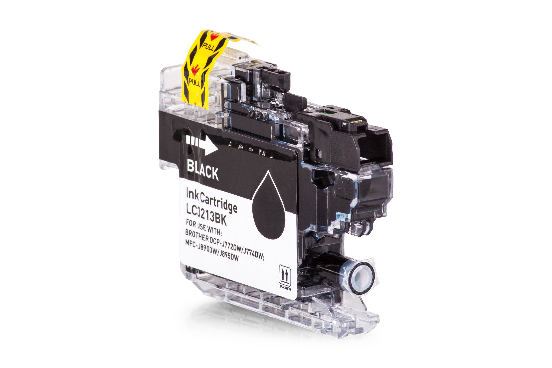 Brother LC3213BK Tintenpatrone schwarz Kompatibel