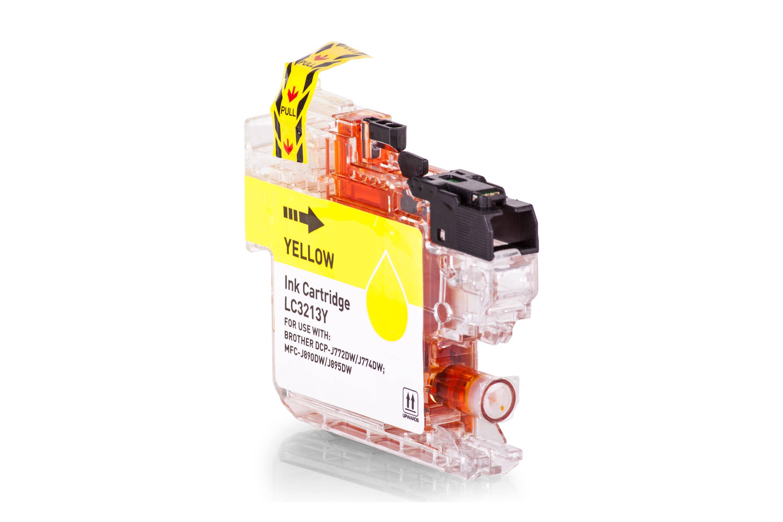 Brother LC3213Y Tintenpatrone gelb Kompatibel